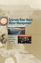 Colorado River Basin water management : evaluating and adjusting to hydroclimatic variability