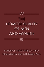 The homosexuality of men and women