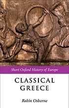Classical Greece, 500-323 BC cover image