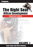 The right seat : officer development : beyond the textbook, v. 1