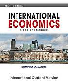 International economics : trade and finance