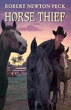 Horse thief : a novel