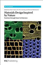 Materials design inspired by nature : function through inner architecture