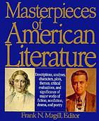 Masterpieces of American literature