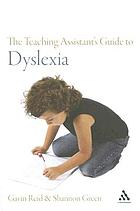 The teaching assistant's guide to dyslexia