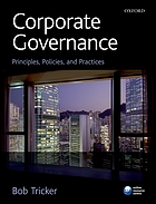 Corporate governance : principles, policies, and practices