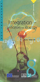 Integration - indicators for energy : data 1985-98