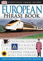 European phrase book.