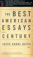 The best American essays of the century. Volume 2