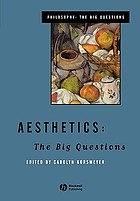 Aesthetics : the big questions