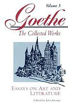 Goethe's collected works.