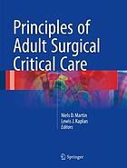 Principles of adult surgical critical care
