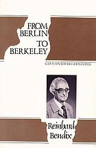 From Berlin to Berkeley : German-Jewish identities