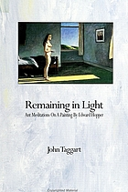 Remaining in light : ant meditations on a painting by Edward Hopper