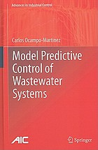 Model predictive control of wastewater system
