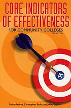 Core indicators of effectiveness for community colleges