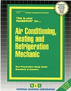 Air conditioning, heating, and refrigeration mechanic.
