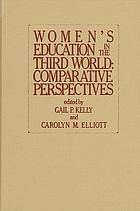 Women's education in the Third World : comparative perspectives