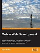 Mobile Web Development.