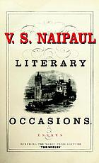 Literary occasions : essays