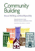 Community building : renewal, well-being, and shared responsibility