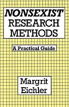 Nonsexist research methods : a practical guide