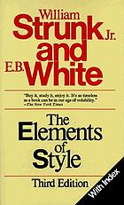 The elements of style : With rev., an introd., and a chapter on writing