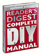 Reader's Digest complete DIY manual.
