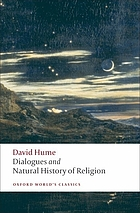 Principle writings on religion, including Dialogues concerning natural religion and The natural history of religion