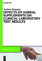 Effects of herbal supplements in medicine