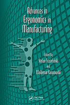 Advances in ergonomics in manufacturing