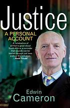 Justice : a personal account