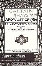 Captain Shays a populist of 1786;