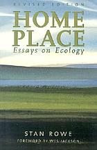 Home place : essays on ecology