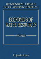 Economics of water resources