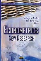 Econometrics : new research