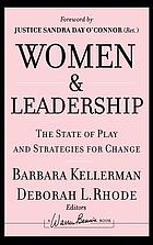 Women and leadership : the state of play and strategies for change