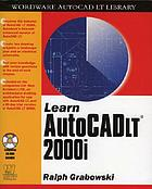 Learn AutoCAD LT 2000i