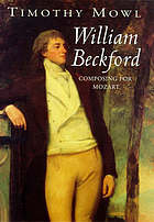 William Beckford : composing for Mozart