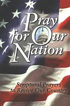 Pray for our nation.