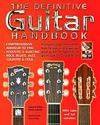 The definitive guitar handbook