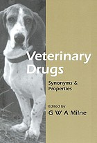 Veterinary drugs : synonyms & properties