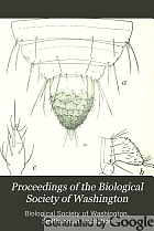 Proceedings of the Biological Society of Washington.