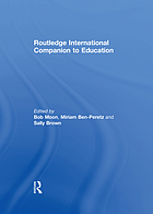 Routledge international companion to education