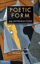 The Cambridge introduction to poetic form