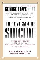 The enigma of suicide