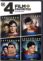 4 film favorites Superman ; Superman the movie ; Superman II ; Superman III ; Superman IV: the quest for peace.
