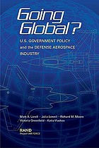 Going global? : U.S. government policy and the defense aerospace industry