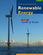 Renewable energy : power for a sustainable future