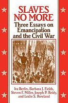 Slaves no more : three essays on emancipation and the Civil War